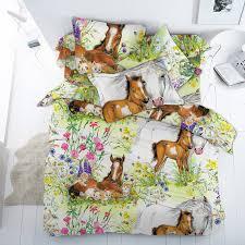 Лошадки - <b>постельное белье</b> для девочек (бязь премиум, 100 ...