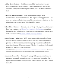 nikslavov uxpin guide to usability testing page 54 55 to give you a better idea of how this works in real life we ll explain a few examples oracle uses a streamlined 10 point list of heuristics gauging