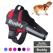 <b>Personalized Dog Harness NO</b> PULL Reflective Breathable ...