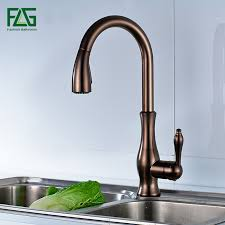 <b>FLG</b> Black Oil Rubbed Bronze <b>kitchen faucet</b>, <b>360</b> rotating Antique ...