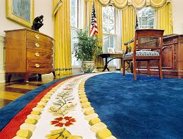 clinton era the oval office bill clinton oval office rug