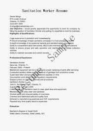 work resume objective cover letter and resume samples by industry work resume objective resume objective statements enetsc resume samples sanitation worker resume sample