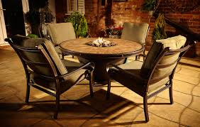 pit patio table