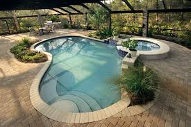 alluring small swimming pools shaped and simple floortile plus amusing furniture in corner side alluring small home corner