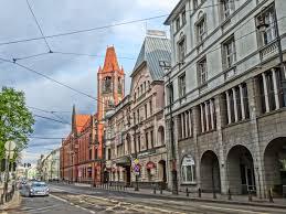 Jagiellońska street in Bydgoszcz