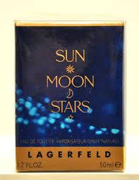 <b>Karl Lagerfeld Sun Moon</b> Stars Eau de Toilette Edt 50ml 1.7 Fl. Oz ...
