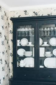 set cabinet full mini summer: white dishes look so beautiful in this country cupboard