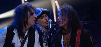Supergroup <b>Hollywood Vampires</b> Covered David Bowie on 'Corden ...