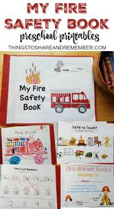 best ideas about fire safety community helpers preschool fire safety booklet printables