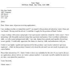 Cover Letter For Mcdonalds Cashier Cover Letter Example Sample Resume For Cashier Position Sample Resume For happytom co
