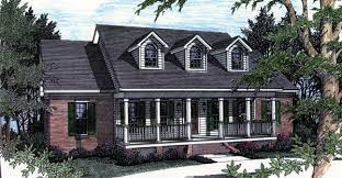 House Plan   Order Code WEB at FamilyHomePlans comCountry Southern House Plan Elevation