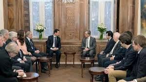 Image result for دومین هیئت اروپایی در دمشق با بشار اسد دیدار و گفتوگو کرد