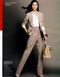 liu wen by yuan gui mei in dress for success business women liu wen by yuan gui mei in dress for success vogue 2010