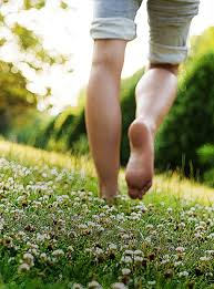 Image result for public domain feet walking in grass