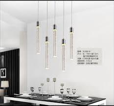 contemporary pendant lights modern led bubble crystal pendant light minimalist fashion hanging creative dinning room bar cheap contemporary lighting