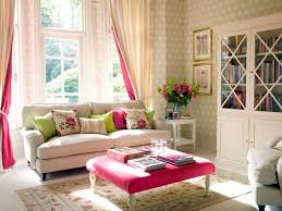 living room white sofas decorated