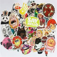 Big Sale #8555 - TD ZW <b>50pcs Random Mixed</b> Sticker For ...