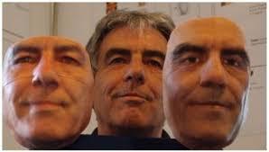 Shockingly lifelike silicone masks after 2 minutes of 3D scanning ...