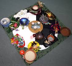 essay a cosmic metaphor for creativity by glenys livingstone ph d a womb of gaia altar celebrating her as cosmic place of creativity never ending renewal photo and altar glenys livingstone