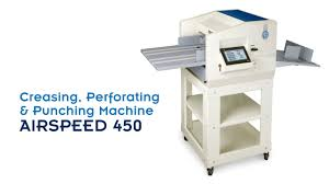 Automatic Creasing Perforating and Punching Machine <b>AirSpeed 450</b>