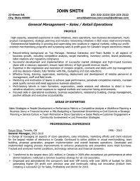 sales manager resume sample  resume samples executive  s    general sales manager resume template   premium resume samples