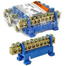 <b>Колодка клеменная N, 10</b> контактов, TDM Electric SQ0801-0013, с ...