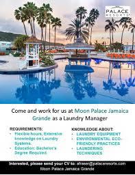 jobs postings caribbean laundry manager ocho rios saturday 26 2016