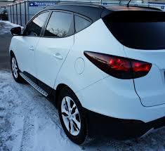 <b>Пороги BMW style</b> интегрированные для Hyundai ix35 2010-2015 ...