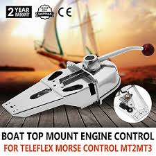 <b>Universal Single Lever</b> Marine Boat Engine Control Handle Top ...
