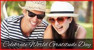 Celebrate World Gratitude Day - International Day of Thanks