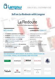 Sell on <b>La Redoute</b> - <b>LaRedoute</b> Marketplace - Lengow