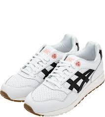 Кроссовки Asics Gel-<b>Saga</b>, серо-белые/черные/коралловые, 8.5 US