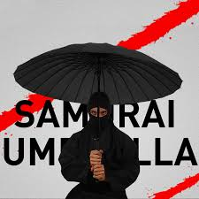 LIKE <b>RAIN</b> Brand Japanese Samurai <b>Umbrella</b> Ninja Sword ...