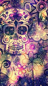 <b>Floral Skull</b> Galaxy Wallpaper #androidwallpaper #iphonewallpaper ...