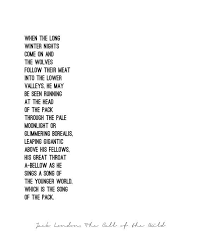 jack london quotes on pinterest  churchill quotes john  the call of the wild  jack london  quote poster  minimalist  black and white  last line from jack londons call of the wild
