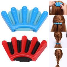 <b>2</b> Colors <b>Magic</b> Lady French <b>Hair</b> Braiding Tool Weave Sponge Plait ...
