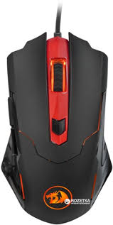 ROZETKA | <b>Мышь Redragon Pegasus</b> USB Black (<b>74806</b>). Цена ...