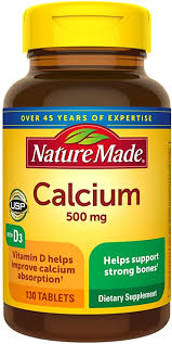 Nature Made Calcium 500 mg Tablets with Vitamin D ... - Amazon.com
