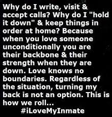 Prison Wife on Pinterest | Inmate Love, Army Girlfriend Quotes and ... via Relatably.com
