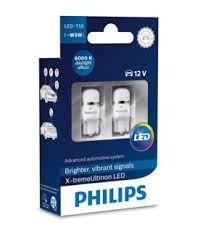 <b>Лампа</b> светодиод <b>Philips</b> W5W T10 <b>X</b>-<b>tremeUltinon</b> LED 6000K ...