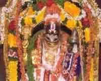 பானகம் அருந்தும் மங்களகிரி நரசிம்ம ஸ்வாமி