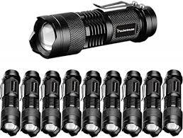 Pocketman Mini 3 Modes <b>Cree Q5</b> 7w 300lm LED Flashlight Torch ...