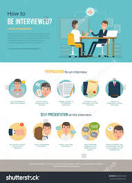 infographics how be interviewed preparing interview stock vector infographics how to be interviewed preparing for the interview in the company self