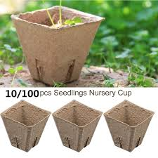 <b>100pcs</b>/<b>set Garden</b> Supplies Flower Vegetable Seedlings Nursery ...