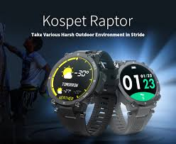 coupon, gearbest, <b>Kospet</b>-<b>Raptor</b>-<b>Outdoor</b>-<b>Smart</b>-Watch-Rugged ...