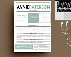 resume template contemporary templates sample inside  81 awesome resume templates for word template