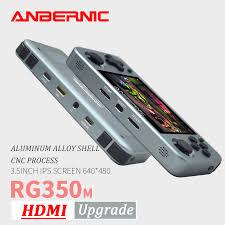 ANBERNIC <b>RG350M Retro Games Aluminum</b> Alloy IPS Screen PS1 ...