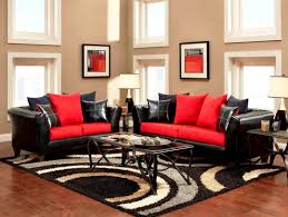 Red Wall Living Room Decorating Furniture Archives House Design And Planning Red Living Room Ideas