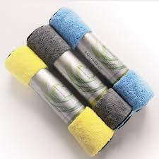 <b>3pcs</b> 30x39cm <b>Microfiber Cleaning Cloth Car</b> Care <b>Towels</b> Wax ...