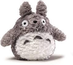 GUND Fluffy Totoro Stuffed Animal Plush in Gray, 6 ... - Amazon.com